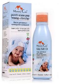 מאמי קר שמן אמבט לתינוק קלנדולה קמומיל