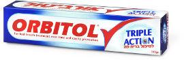 אורביטול טריפל אקשן משחת שיניים לטיפול בריח פה