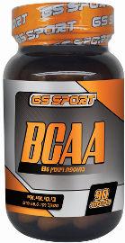 G.S ספורט חומצות אמינו מסועפות לאוצין, ל-ואלין, ל-איזולאוצין בתוספת ויטמין B6