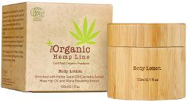 Organic Hemp Line תחליב גוף עדין