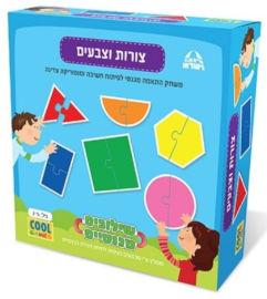 Cool Games משחק שילובים מגנטיים לילדים- צורות וצבעים