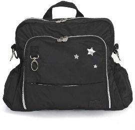 gitta תיק החתלה ideal גיטה שחור 3 כוכבים