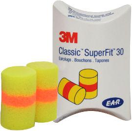3M אטמי אוזניים סופר פיט ספוג