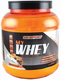 G.S ספורט MY WHEY אבקת חלבון מתקדם בטעם עוגיות