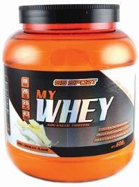 G.S ספורט MY WHEY אבקת חלבון מתקדם בטעם שוקולד לבן