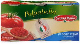 גרנד איטליה עגבניות חתוכות דק לרטבים ותבשילים