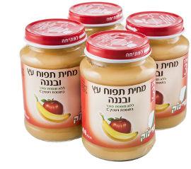 פרינוק מחית תפוחי עץ ובננה שלב 3