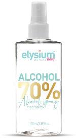 אליסיום תרסיס 70% אלכוהול  לניקוי הידיים