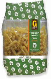 GFREE פתיתים פוזילי על בסיס קמח תירס וקמח אורז ללא גלוטן