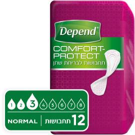 דיפנד Comfort-protect תחבושות לבריחת שתן נורמל