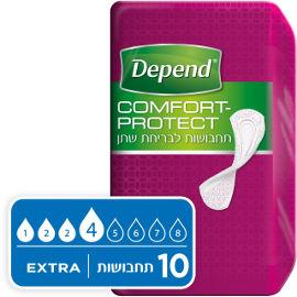 דיפנד Comfort-protect תחבושות לבריחת שתן אקסטרה