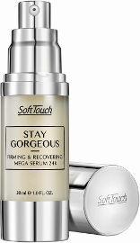 Soft Touch STAY GORGEOUS סרום ממוצק עם חלקיקי זהב