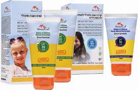 מאמי קר מארז הכולל 3 יחידות של קרמי הגנה SPF30 : זוג קרמי הגנה לגוף + 1 קרם הגנה לפנים