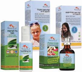 מאמי קר מארז מוצרי קיץ הכולל: קרם הגנה מינרלי לפנים + קרם הגנה מינרלי לגוף + תערובת ציטרונלה + ג'ל להרגעת עקיצות