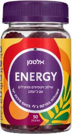 אלטמן ENERGY ויטמינים ומינרלים במרקם ג'לי בטעם פירות יער