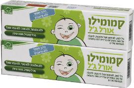 3OL קמומילו אורל- ג'ל לפה לשימוש אצל תינוקות מארז