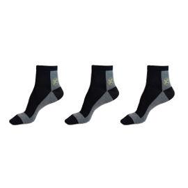 ZA-KEN גרביים בריאותיות דגם QB שחור מידה 37-41
