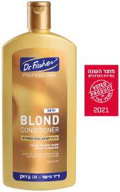 """ד""""ר פישר BLOND מרכך לשיער בהיר-בלונדיני"""