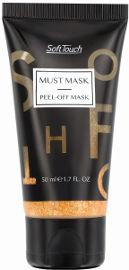 Soft Touch PEEL OF MASK מסכה מתקלפת למראה עור זוהר וקורן - זהב