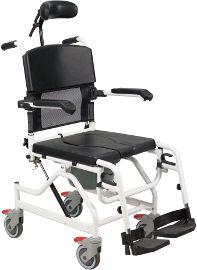 העיקר הבריאות כסא רחצה עם הטיית טילט מאלומיניום