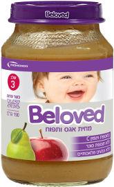 BELOVED מחית אגס ותפוח שלב 3