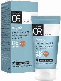 דוקטור עור OILY-OR קרם BB לעור שמן  לחות עם גוון מדיום SPF30