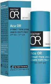 דוקטור עור ACU-OR שפתון טיפולי לשפתיים יבשות ולהגנה מהשמש SPF50+