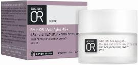 דוקטור עור RETIN-OR קרם עיניים אנטי אייג'ינג לעור בוגר +45  SPF15
