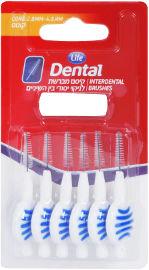 Life Dental קיסם מברשת לניקוי יסודי בין השיניים קונוס