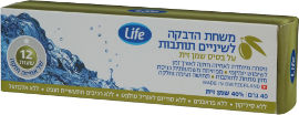 Life Dental משחת הדבקה לתותבות על בסיס שמן זית