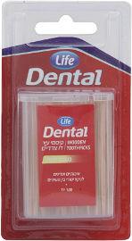 Life Dental קיסמי עץ דו צדדיים בטעם מנטה