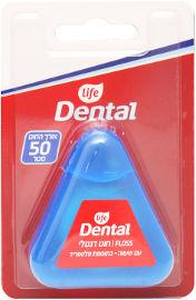 Life Dental חוט דנטלי עם שעווה בתוספת פלואוריד