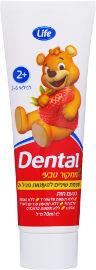 Life Dental משחת שיניים לפעוטות ממקור טבעי 2+