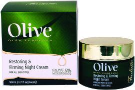 Olive קרם לילה מועשר בשמן זית
