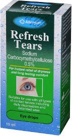 REFRESH TEARS טיפות עיניים