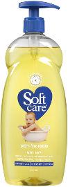 סופטקר שמפו אל-דמע לתינוק לעור רגיש עם משאבה