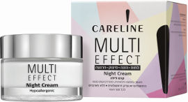 CARELINE MULTI EFFECT קרם לילה