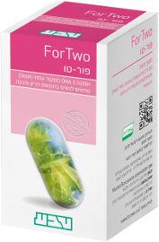 טבע תוספי תזונה פור-טו אומגה 3 ממקור צמחי מתאים לנשים בתקופת הריון והנקה