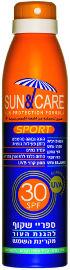 Sun & Care ספריי ספורט SPF30 UVA B