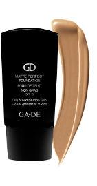 GA-DE MATTE PERFECT מייק אפ