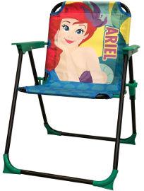 DISNEY כיסא ילדים מתקפל בת הים הקטנה