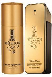 Paco Rabanne 1 MILLION סט א.ד.ט + דאודורנט ספריי