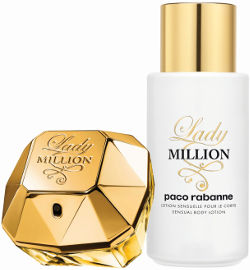 Paco Rabanne Lady MILLION סט א.ד.פ + קרם גוף לאשה