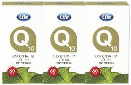 Life קו-אנזים Q10  מארז שלישייה