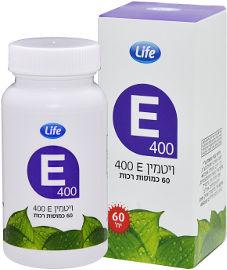 LIFE ויטמין E400