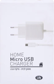 Life מטען מיקרו USB לבית