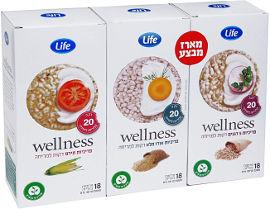 Life Wellness מארז שלישיית פרכיות דקות