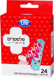 Life פלסטירים מצויירים לילדים