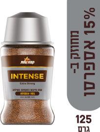 עלית INTENSE קפה מיובש בהקפאה בשילוב 15% אספרסו