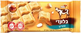 שוקולד פרה בלונדי שקדים